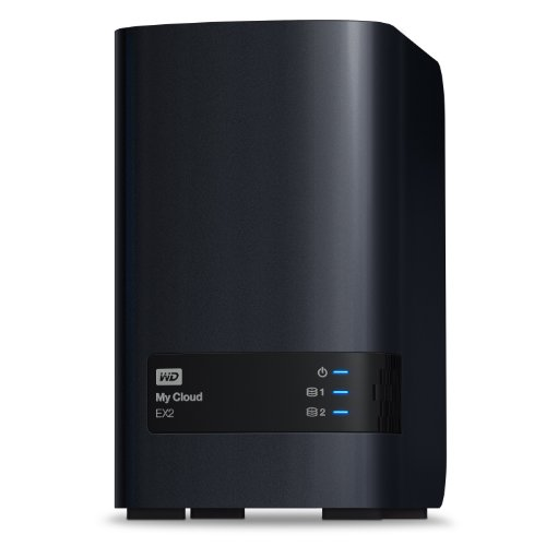 WD WDBVKW0000NCH-EESN My Cloud EX2 Network Attached Storage, Diskless