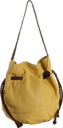The SAK Indio Leather Drawstring Shoulder Bag