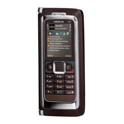 Nokia E90 Communicator Sim Free Mobile Phone - Mocca