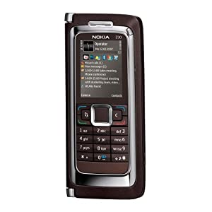 Nokia E90 Communicator Unlocked Phone with 3.2 MP Camera, 3G, Wi-Fi, GPS, Media Player, and MicroSD Slot--U.S. Version with Warranty (Mocha)