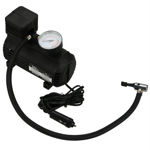 Muchbuy Portable Mini Air Compressor Electric Tire Infaltor Pump 12 Volt Car 12V Psi