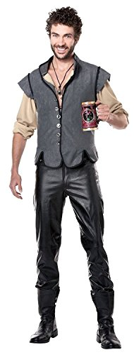 Fas Cosplay Costumes Men's Renaissance Man Captain John Smith Costume