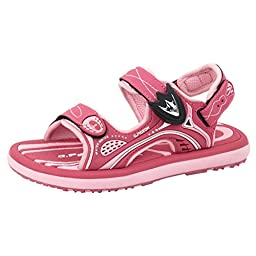 GP9175 Girls Easy Magnetic Closure (Snap Lock) Outdoor/Water Sandals, Fuchsia, EU28