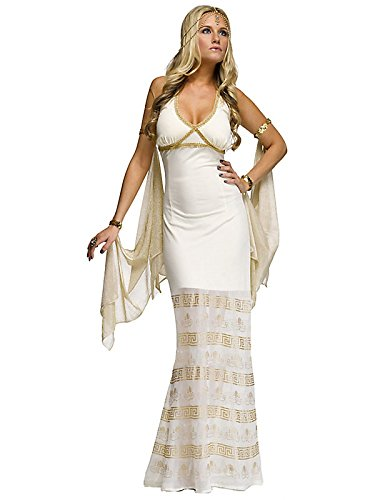 Golden Goddess Costume For Women - M/L (10-14)