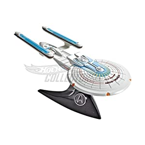 Hot Wheels Collector Star Trek USS Excelsior NCC 2000