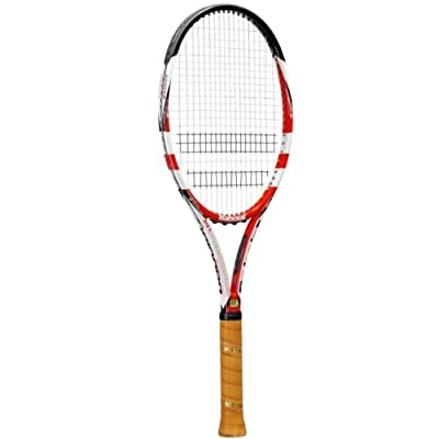 Babolat 101134-100 Pure Storm Ltd Plus GT Unstrung Tennis Racquet, 4 3/8 (Black/White/Red)