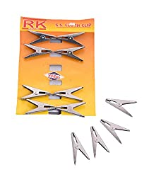 Hazel Cloth Clip 12 pc Stainless Steel