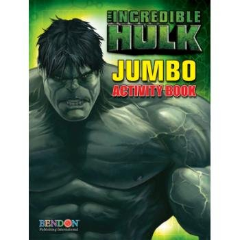 The Incredible Hulk Coloring & Activity Book