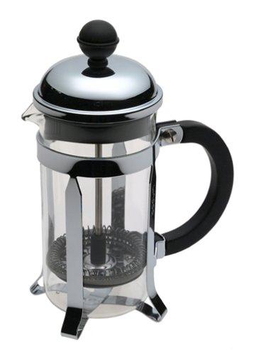 Bodum Chambord 3 Cup French Press Coffee Maker, 12 Oz., Chrome