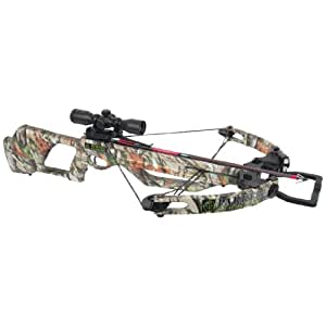 Parker Hornet Extreme Crossbow with Illuminated Reticle Scope and Quiver