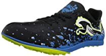 PUMA Crossfox XC Spikeless Running Shoe,Black/Brilliant Blue,10.5 D US