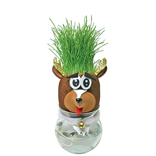 Grow-A-Head Reindeer Toy - 1