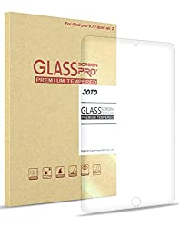 iPad Pro 9.7 inch Tempered Glass Screen Protector, JOTO iPad Pro 9.7