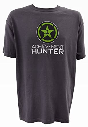 Achievement Hunter Logo Shirt - XXX-Large - Charcoal