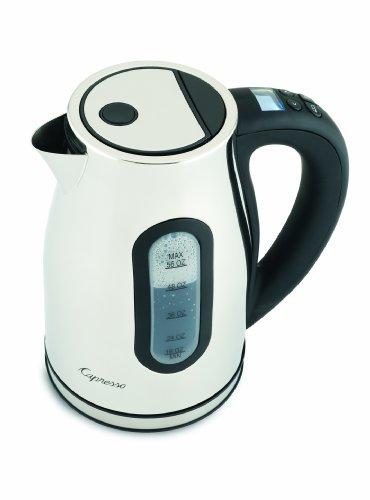 Capresso H2O Pro White Cordless Water Kettle (Capresso H20 Water Kettle compare prices)