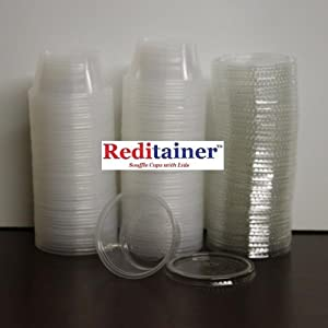 Amazon.com: Reditainer - Plastic Disposable Portion Cups - The