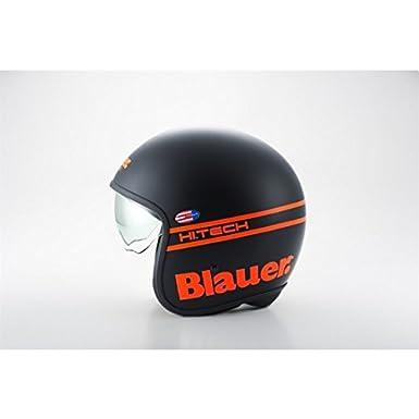 Casque blauer pilot noir/orange fluo xl - Blauer BLCJ116XL