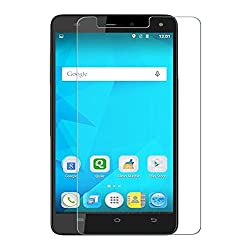 SNOOGG Micromax Canvas Plus 4G E451Full Body Tempered Glass Screen Protector [ Full Body Edge to Edge ] [ Anti Scratch ] [ 2.5D Round Edge] [HD View] - White