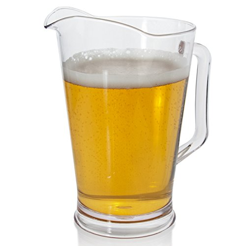 Restaurant Quality Plastic 64oz Water/Beer Pitcher (Pitchers Of Beer compare prices)