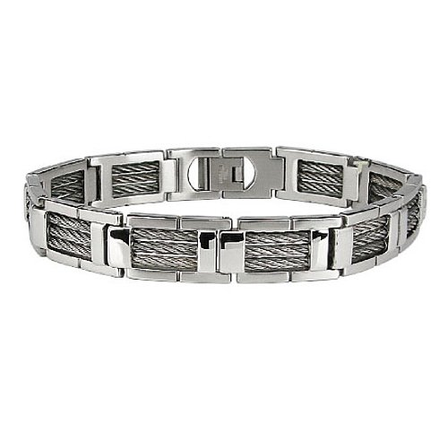 Stainless Steel Bracelet 8.5 Inches