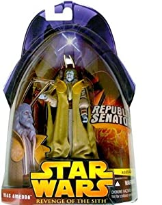 Star Wars E3 Revenge of the Sith Action Figure #40 Mas Amedda (Republic Senator)