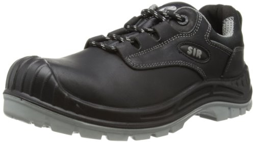 SIR Safety Unisex-Adult Over Cap Safety Shoes 25071 Black 12 UK, 46 EU