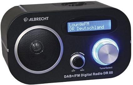 Comparer ALBRECHT DR80 NOIR
