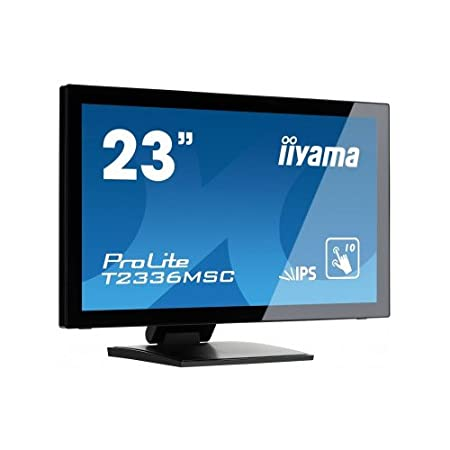 "Iiyama Prolite T2336MSC-B1 Ecran PC LED 23"" (57,50 cm) 1920 x 1080 2 ms VGA/DVI/HDMI Noir"