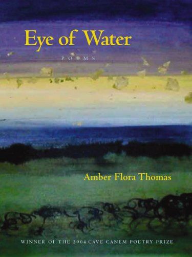 Eye of Water (Pitt Poetry Series)