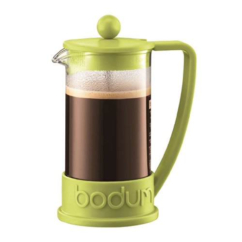 Bodum Brazil French Press 3 Cup Coffee Maker Cafetiere 0.35L / 12Oz Lime Green