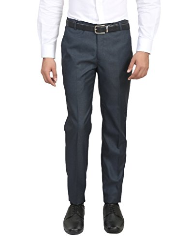 ManQ-Slim-Fit-Mens-Formal-PantsTrousers-4-Colors