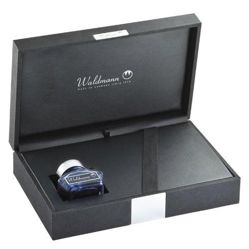 Waldmann boîte de cadeau ROYAL pour 1-2 instruments d'écriture avec encrier et un convertisseur