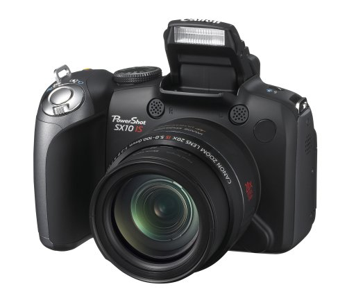 Canon PowerShot SX10 IS is one of the Best Digital Cameras Overall Under $500 with at least 10x Optical Zoom