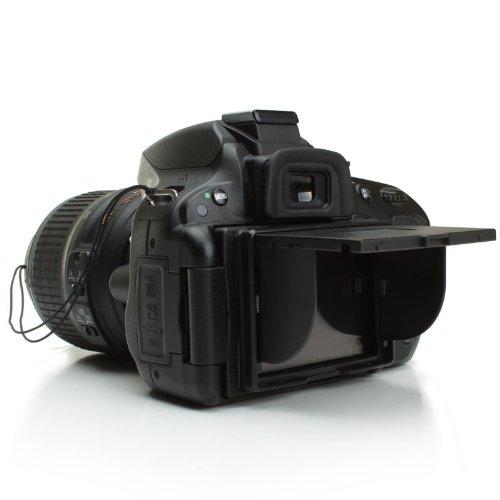 ENHANCE - Paraluce universale per schermo LCD, per fotocamere reflex Nikon, Canon, Panasonic, Olympus, Sony, Fujifilm, Samsung, Micro Quattro Terzi e fotocamere digitali compatte
