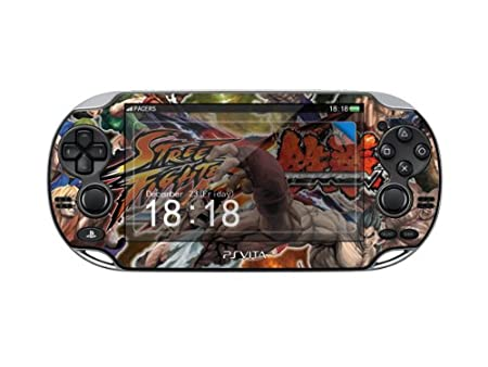 STREET FIGHTER Protector Skin Decal Sticker for Play Station Vita(PSV), Item No.1180-59