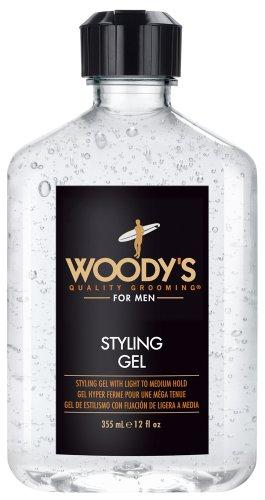 Qualità Grooming Styling Gel di Woody - 355 ml