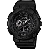 G-Shock Womens BA-110BC-1A G-Shock x Baby G Pair Baby-G Series Stylish Watch - Black / One Size