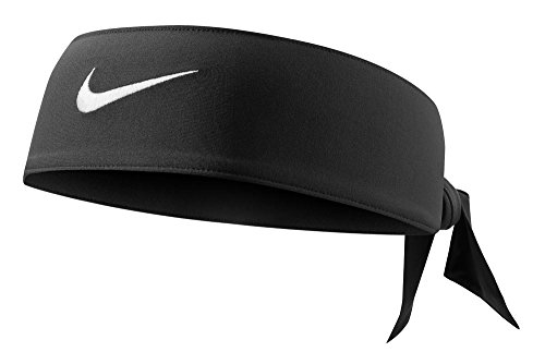 Fascia Tennis NIKE Dri-Fit Head Tie Swoosh capelli FEDERER NADAL nera