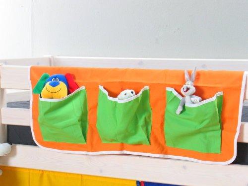 Thuka Hängetasche Organizer Aufbewahrung Tasche Kinderbett Hochbett Bett orange