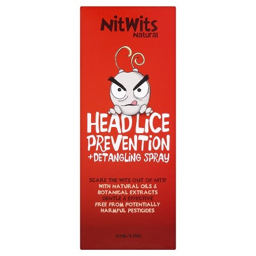 NitWits Natural Lice Prevention and Detangling Spray