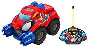 Silverlit - 85165 - Véhicule Miniature - Mega Force Monster Truck - Spiderman