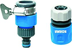 Korma Ac Universal Tap Connector & Quick Connector (Blue:Grey,Full)