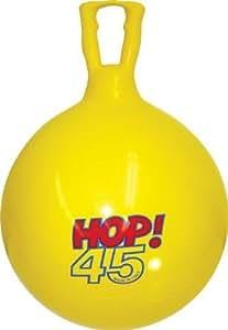 "Olympia Sports 18"" Hop Ball Yellow"