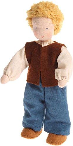 Grimm's Puppenhauspuppe Papa blond