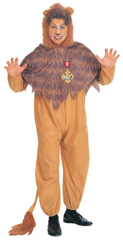 Adult Cowardl Lion Costume