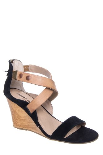 Kenneth Cole Oh Ava High Wedge Ankle Strap Sandal
