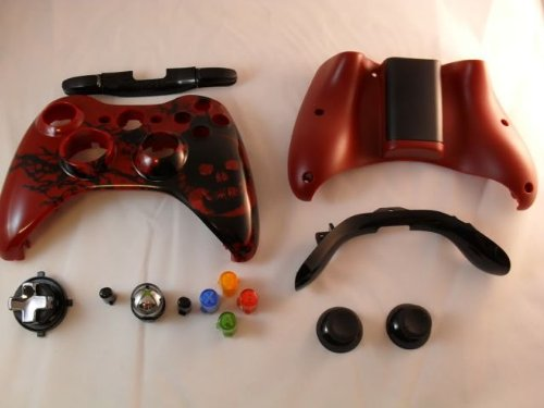 Gears Of War 3 Xbox 360 Controller Shell Housing (Transforming D-Pad)