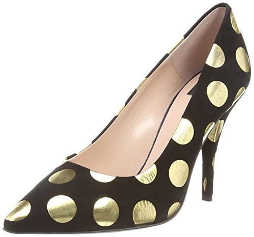 Moschino Gold Spot Court,  Nero Nero 41.5