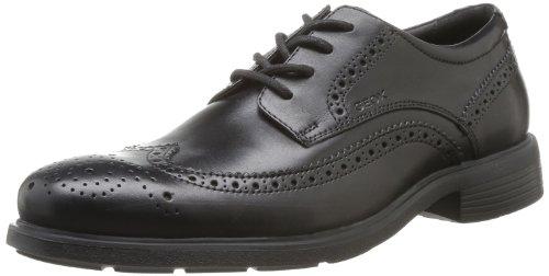 Geox  U DUBLIN B,  Scarpe eleganti uomo, Nero (BLACKC9999), 45