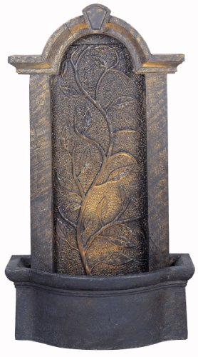 Kenroy Home #50770BH Meadow Indoor/Outdoor Floor Fountain in Bronze Heritage Finish